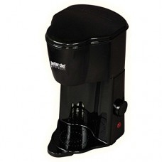 Better Chef Compact Personal 1-Cup Ground Or Pod Coffee Maker, Black