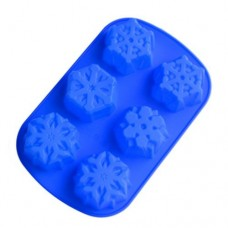 6 Even Snowflakes Silicone Cake Mold