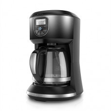 BLACK+DECKER CM4002B 12 Cup Automatic Programmable Coffeemaker, Ombre Black