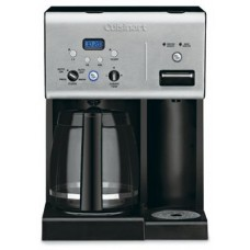Cuisinart CHW-12 Programmable Coffeemaker, Steel/Black, 12-Cup - Quantity 2