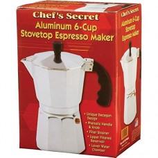 Aluminum 6 Cup Stovetop Espresso Maker Coffee Pot Percolator Brewer Latte Mocha