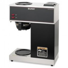 BUNVPR - Bunn Coffee Pour-O-Matic Two-Burner Pour-Over Coffee Brewer