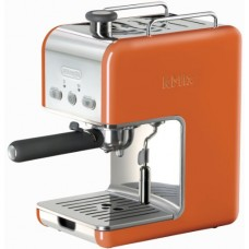 DeLonghi Kmix 15 Bars Pump Espresso Maker, Orange