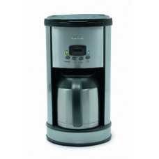 Delfino DLFC700 8-Cup Thermal Carafe Programmable Coffee Maker, Stainless Steel