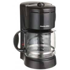 Proctor-Silex 41334 Easy Morning 12-Cup Coffeemaker with Brew Strength Selector, Black