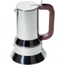 Alessi 9090/3 Richard Sapper Stovetop Espresso Maker 3 Cup