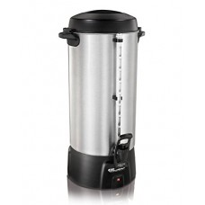 Coffee Urn, 100 Cup, Black/Silver