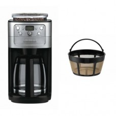 Cuisinart DGB-700BC Grind-and-Brew 12-Cup Automatic Coffeemaker and Filter Bundle
