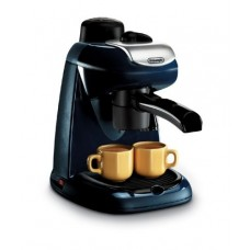 Delonghi EC7 4-Cup Cappuccino and Coffee Maker, 220-Volts, Black