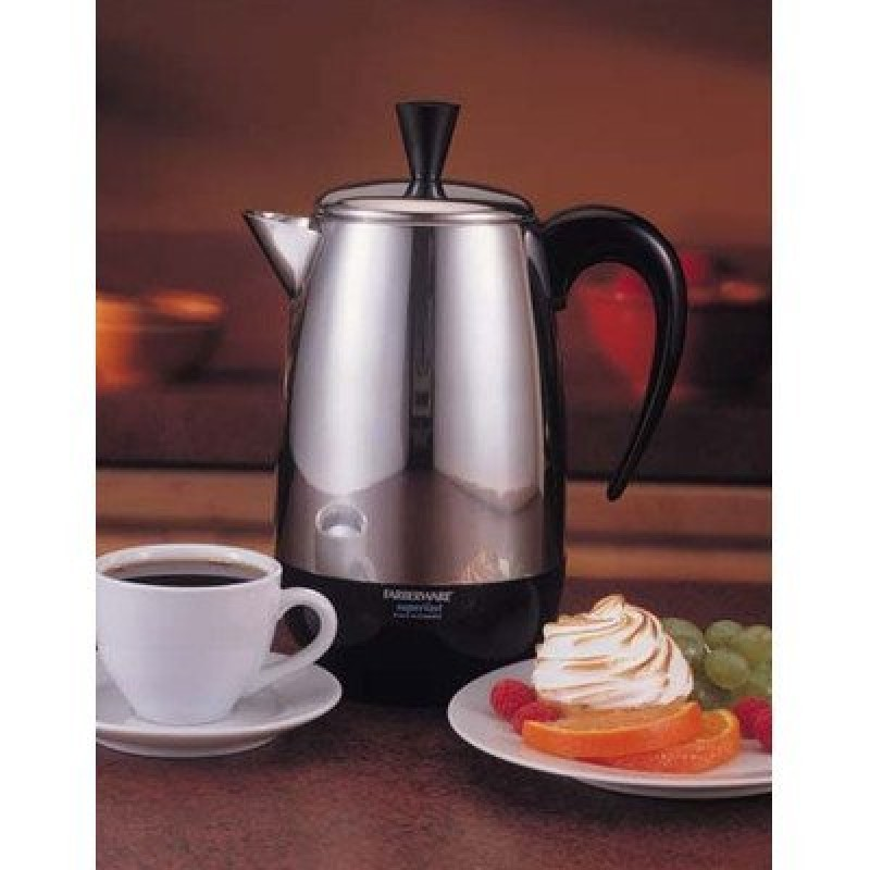 Farberware Automatic Coffee Maker Instructions : Farberware Percolator 8 Cup Stainless Steel 1000 W - Cheap Coffee Machines