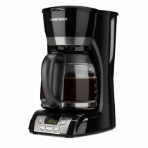 Black & Decker BCM1410B 12-Cup Programmable Coffeemaker with Glass Carafe by BLACK+DECKER