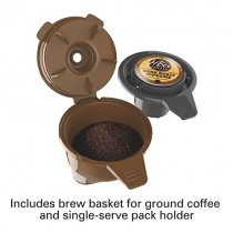 Hamilton Beach FlexBrew Single-Serve Coffee Maker for K-Cups and Ground Coffee (49974)