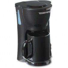Toastess One-cup Coffee Maker With 10.5-ounce Mug, Tfc326, Black