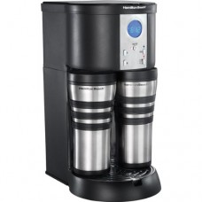 Stay or Go Custom Pair 10-Cup Digital Coffeemaker