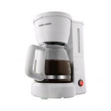 Black & Decker 5-cup Coffeemaker with White finish - NEW - Retail - DCM600W