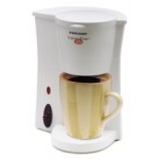 Black & Decker DCM7 Cup-at-a-Time Personal 12-Ounce Coffeemaker, White