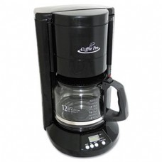 Home/Office 12-Cup Coffee Maker, Black by OGF (Catalog Category: Office Maintenance, Janitorial & Lunchroom / Food & Beverage)