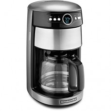KitchenAid Contour Silver 14-Cup Programmable Coffee Maker - KitchenAid Model - KCM1402CU - Set of 2 Gift Bundle