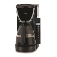 Capresso CM200 10-Cup Programmable Coffee Maker, Black