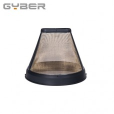 GYBER Taller #4 Permanent Gold-tone Coffee Filter for KRUPS Coffeemakers Cone Shape 12-Cup Original Quality