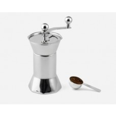 Design Coffee Grinder in Stainless Steel High-gloss Polished