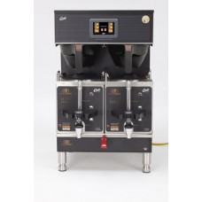 Wilbur Curtis G4 Gemini Twin Coffee Brewer, 1.5 Gal. w/IntelliFresh, Black - Commercial Coffee Brewer with Digital Control Module and Self-Diagnostic System for Gourmet Results - G4GEMTIF10B1000 (Each)