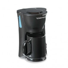 Toastess Personal Coffee Maker with 10.5 Oz. Ceramic Mug