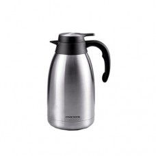 Ovente THA20 Stainless Steel Double Wall Vacuum Insulated Coffeemaker Carafe, 2-Liter, Brushed