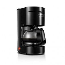 MOMO Mini Coffee Machine, Household appliances, Automatic American drip Type 3c Coffee Maker, Office Tea Maker,Black,One Size