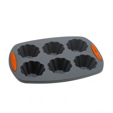 Makimy 6-Cup Premium Silicone Muffin and Cupcake Pan