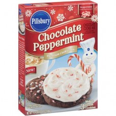 Pillsbury Chocolate Peppermint Premium Cookie Mix 17.5 Oz (Pack of 3)