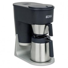 BUNN - Velocity Brew STX 10-Cup Coffee Brewer, Black/Stainless Steel ST (DMi EA