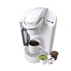 Keurig Elite K40 Single Serve Coffeemaker Brewing System, White