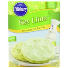 Pillsbury Cookie Mix, Key Lime, 17.5 Ounce (Pack of 12)