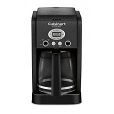 Cuisinart DCC-2650BW 12 Cup Brew Central Programmable Coffeemaker, Black Wrinkle (Certified Refurbished)