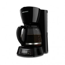 Black & Decker BCM1410B 12-Cup Programmable Coffeemaker with Glass Carafe by Black & Decker