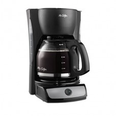 BLACK 12-Cup Switch Coffee Maker, CG12; On/Off indicator light, Water Windows for easy filling