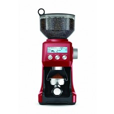 Breville BCG800CBXL 25-Grind Setting Bean Hopper Cranberry Red Coffee Grinder