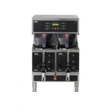 Wilbur Curtis Gemini Twin Coffee Brewer, 1.5 Gal. - Commercial Coffee Brewer - GEMTS10A1000 (Each)