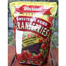 Mariani, Premium Sweetened Dried Cranberries, 30oz Bag (Pack of 2)