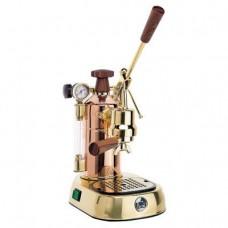 La Pavoni 16-Cup Copper/Brass Professional Espresso Machine