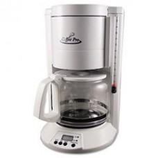 * Home/Office 12-Cup Coffee Maker, White