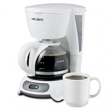 Mr. Coffee TF4-NP 4-Cup Switch Coffeemaker, White