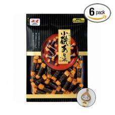 Japan Seaweed Rice Cracker /Rice crackers wrapped in seaweed Bonus Pack (6 Packs)