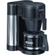 BUNN NHBX-B 10-Cup Home Brewer Coffee Maker, Black Velocity Brew Machine