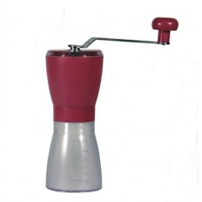 Diguo Manual Ceramic Burr Coffee Grinder (Red)