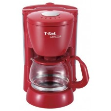 T-FAL (simple, easy maintenance) coffee maker apresia solid red CM111570 by N/A