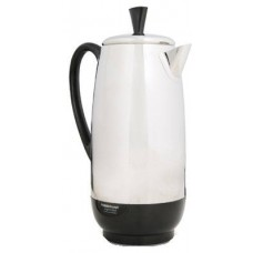 Farberware FCP412 1000 Watt 12-Cup Percolator, Stainless Steel