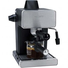 Mr. Coffee BVMC-ECM260-RB-1 Steam Espresso and Cappuccino Maker, Black
