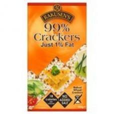 Rakusens 99% Crackers Just 1% Fat 150G